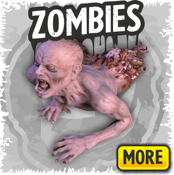Zombie Props for your Haunted House or Halloween