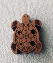 Reddish Turtle Flute Key of A Major