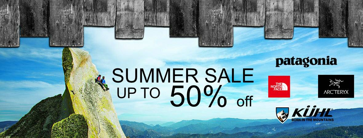 summer sale arcteryx arc'teryx patagonia the north face kuhl