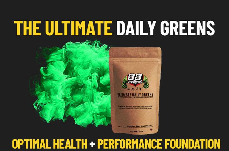 33 daily greens seasonal affective disorder SAD