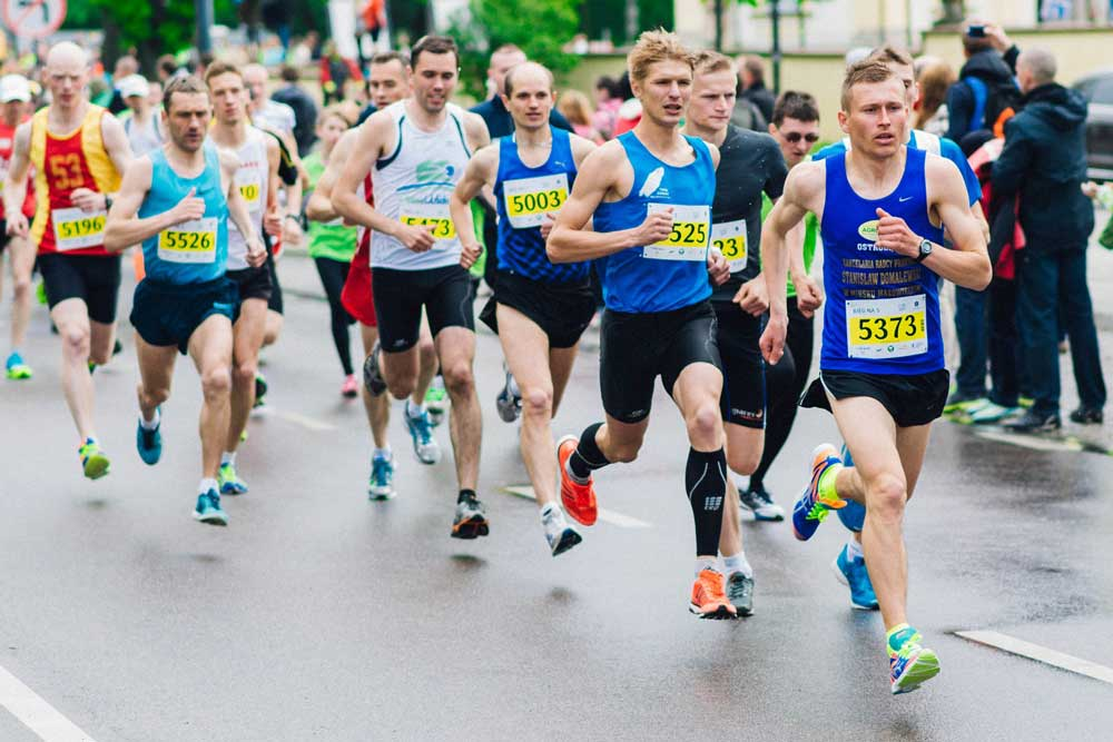 33fuel how to keep running when you want to stop - marathon running