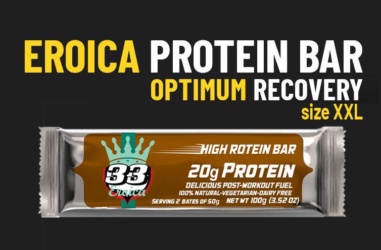 33fuel paul lunn podcast - eroica protein bar