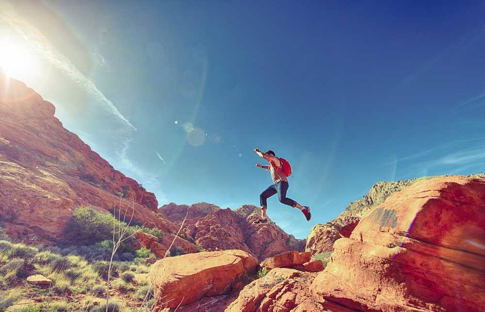 33fuel plyometric training benefits for endurance athletes - bounding skipping jumping