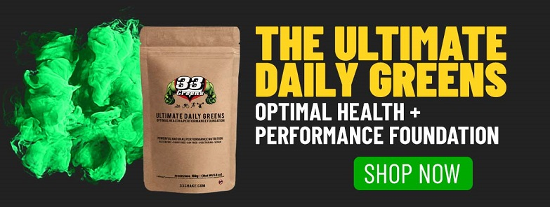 33fuel post exercise immunosuppression - ultimate daily greens