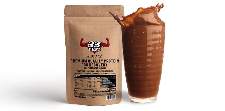 33fuel training in the heat - premium protein