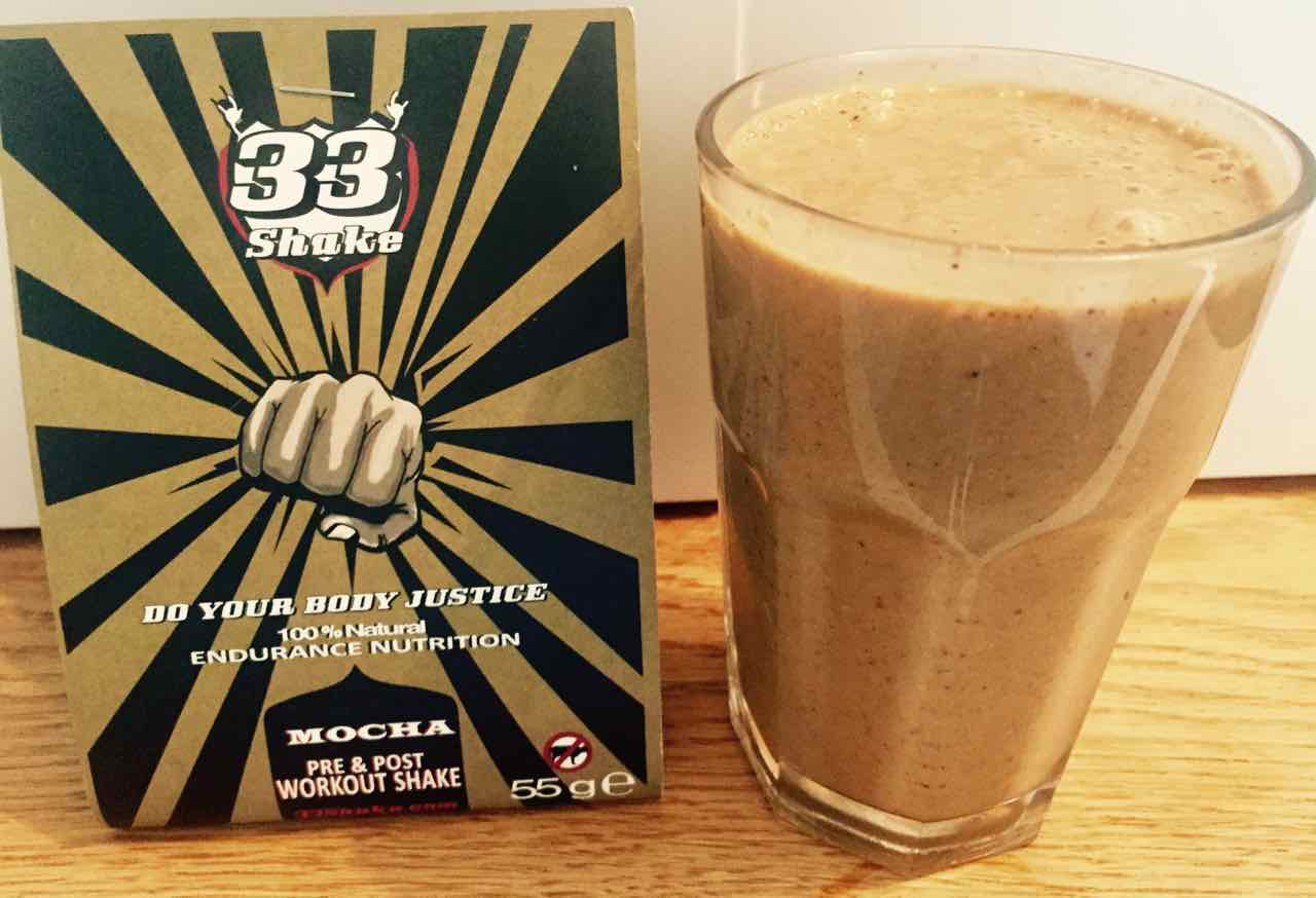 33shake pre and post workout shake best diet for endurance running