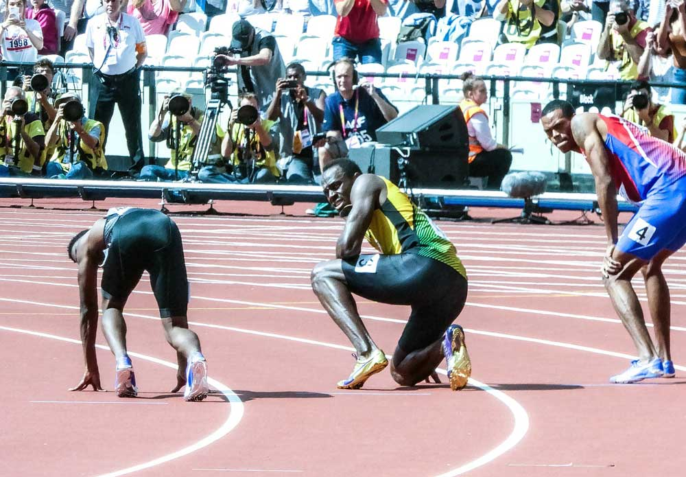 7 lessons sprinters can teach endurance athletes - usain bolt