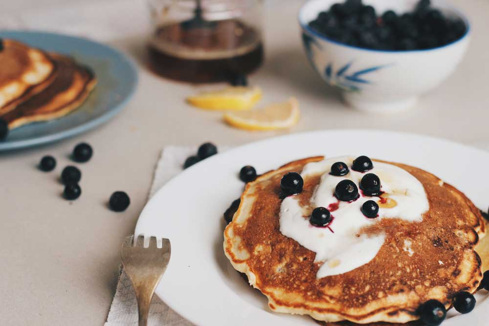 33fuel pro athlete breakfast recipes - pancakes are great