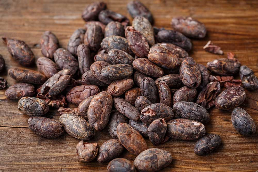 athletic superfoods - raw cacao