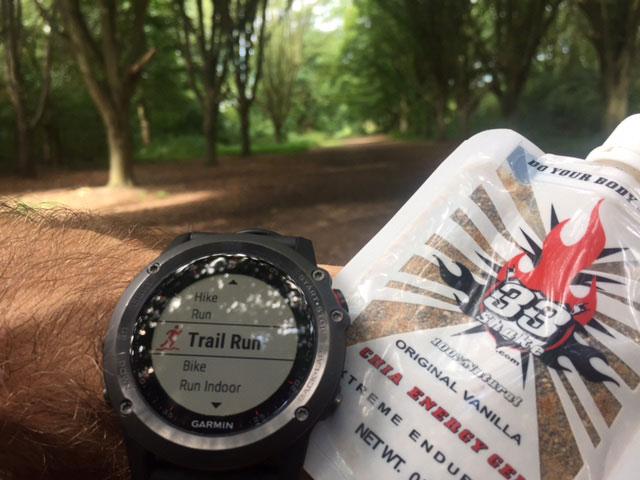 Ultramarathon nutrition - what does an elite ultramarathon runner eat? 33Shake Chia Energy Gel