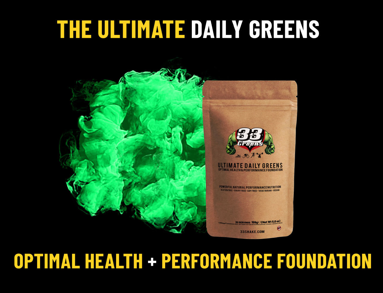 Training when sick - ultimate daily greens