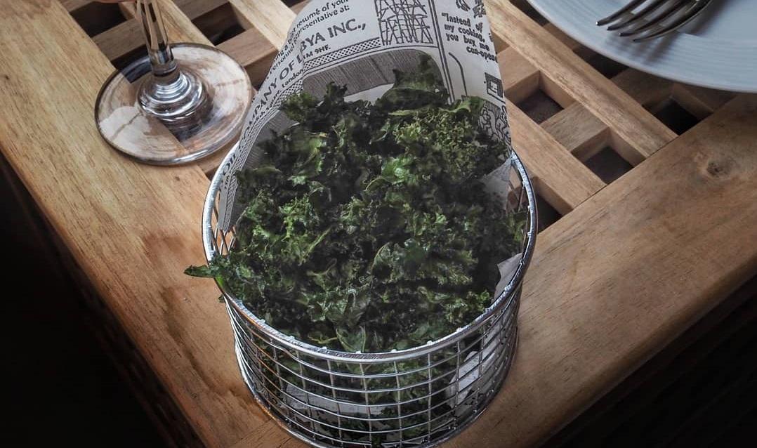 33fuel roasted kale ships recipes - tasty