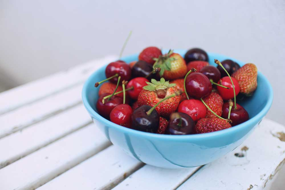 inflammation and food - fruit