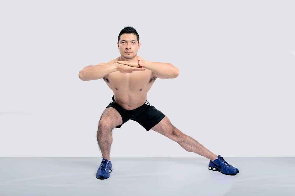 best strength exercises for marathon runner - lunge