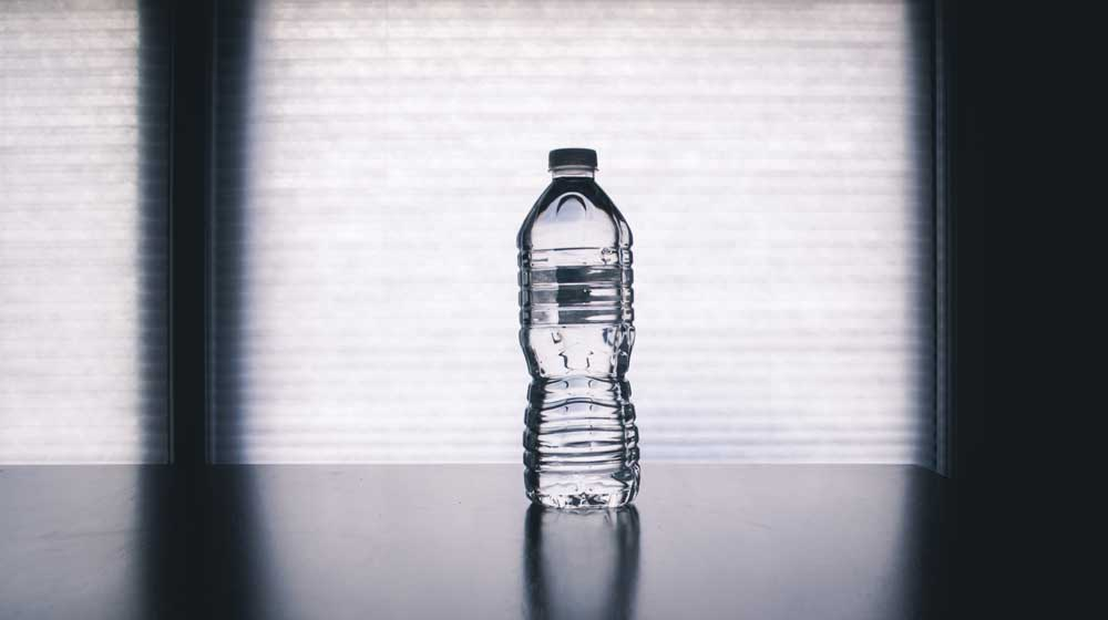 taper nutrition - Keep a water bottle to hand