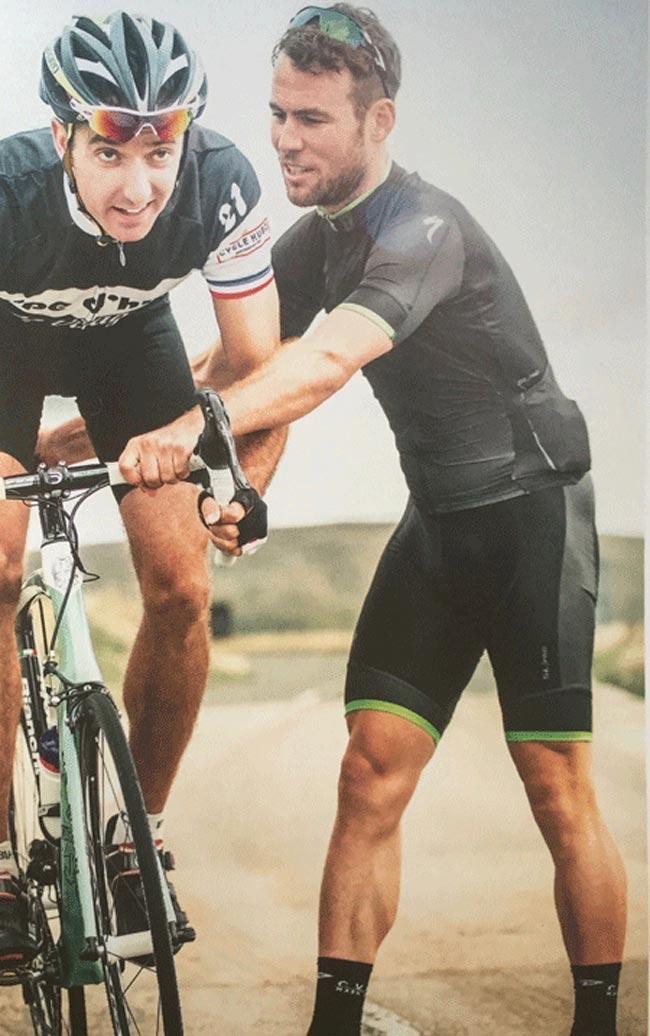 Mark Cavendish sprint training
