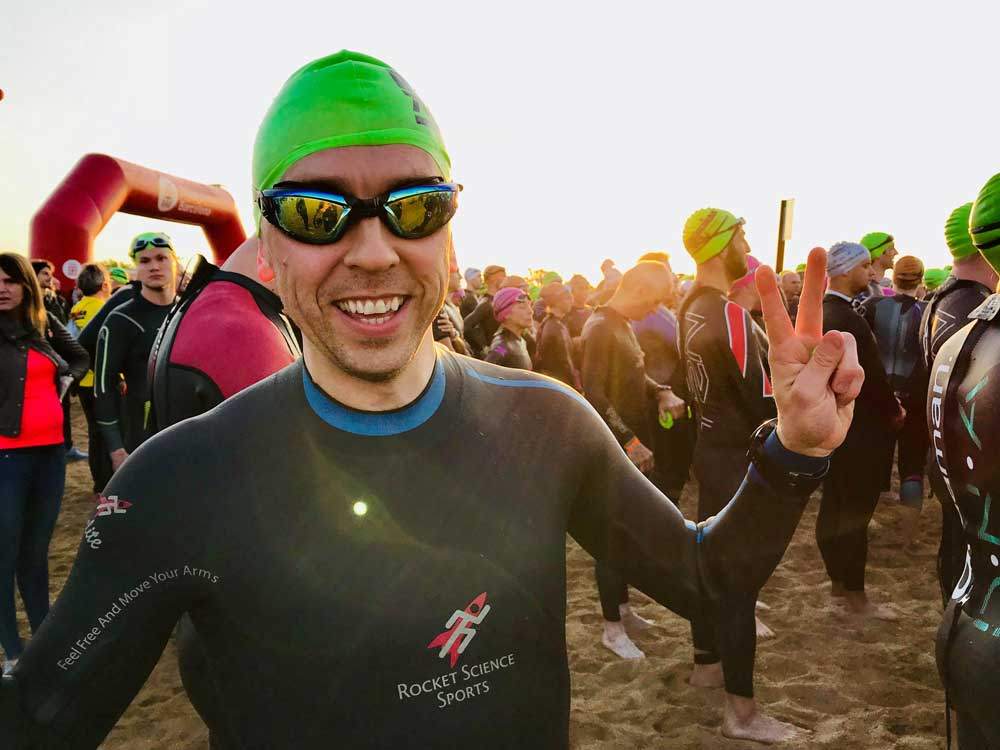 Multiple sclerosis and Ironman Conor Devine - triathlete
