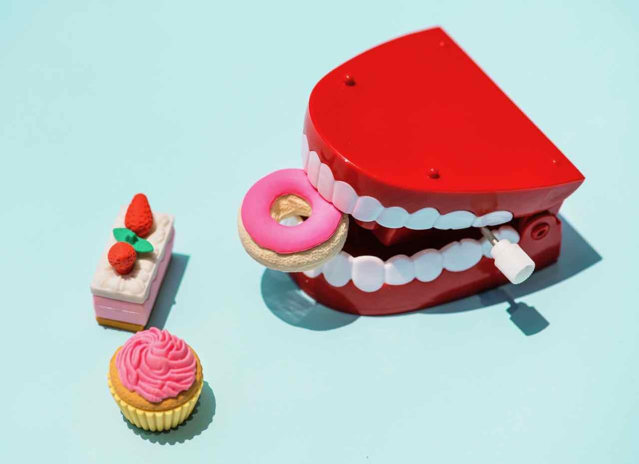Professional athlete nutrition teeth dental hygene