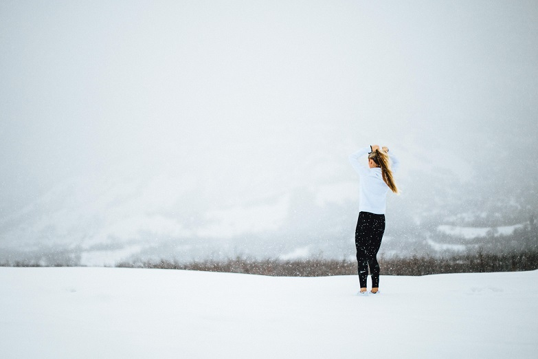Running in winter - pace