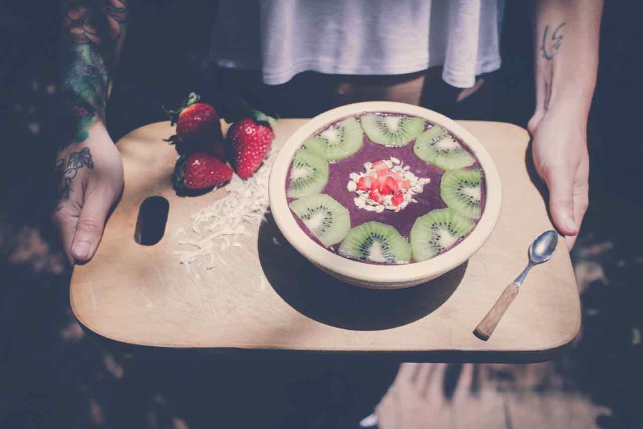 Superfoods for energy kiwi fruit
