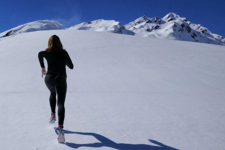 Training when sick - mountain run