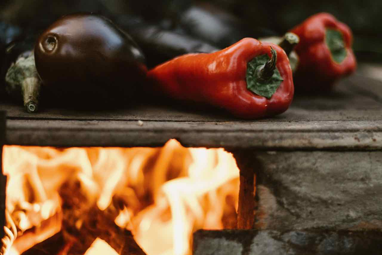 Winter training tips - roasted veg