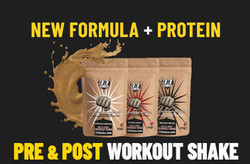Elite Pre and Post Workout Shake Bonus Pack £6.99