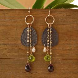 Horizon Stone Earrings