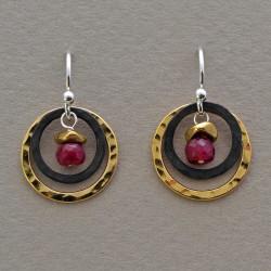 Ruby View Earrings