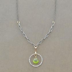 Radiant Peridot Necklace