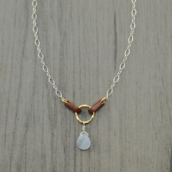 Saddled Chalcedony Necklace