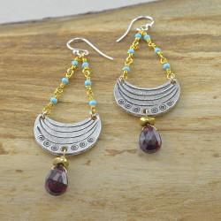 Moon Crescent Earrings