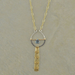 Topaz & Tassels Necklace