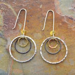 Encompassed Circles Earrings
