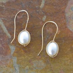 On the Vine Pearl Earrings