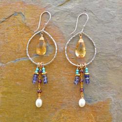 Earrings in Bloom