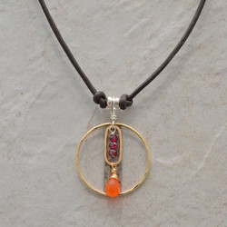 Carnelian Within Necklace