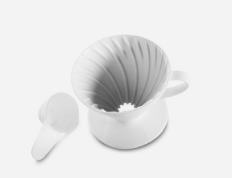 Hario V60 2cup White Porcelain Dripper