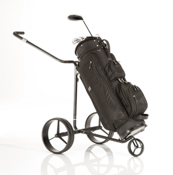 Jucad Black Mamba Electric Motorized Push Cart Trolley