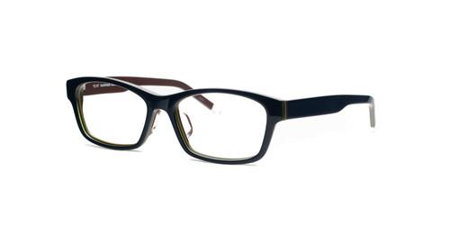 C1 Dark Blue / Brown with Green Stripe Front