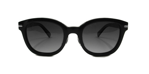 C1 Shiny Black w/ Grey Gradient Polarized Lenses