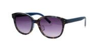 C3 Blue Tortoise w/ Gray Gradient CR39 Lenses