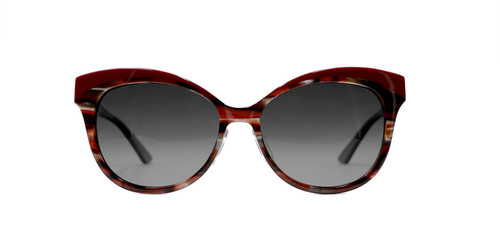 C1 Burgundy w/ Gray Gradient Polarized Lenses