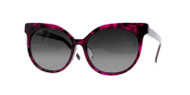 C3 Dark Magenta w/ Gray Gradient Polarized Lenses