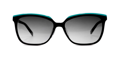 C1 Oceanic Teal/Black w/ Gray Gradient CR39 Lenses