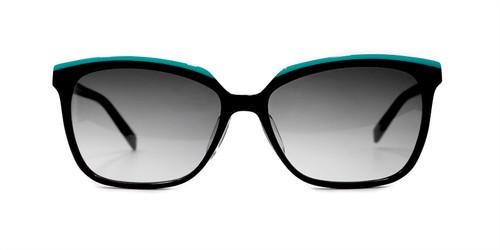 C1 Oceanic Teal/Black w/ Gray Gradient CR39 Lenses