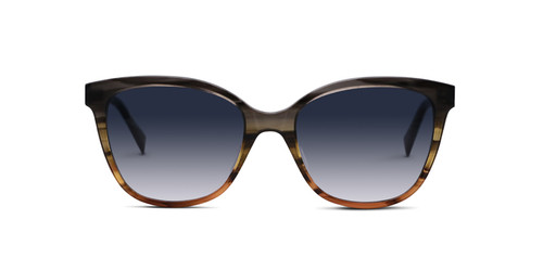 Gray and Brown Fade  w/ Gray Gradient Polarized Lenses (C1)