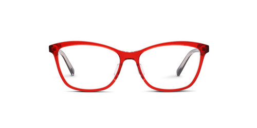 Crystal Red Front w/ Black Temples (C2)