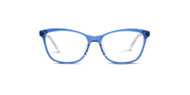 Crystal Blue front w/ Clear Temples (C3)
