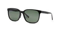 Black Bear w/ Solid Polarized Green Lens (C1)